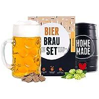 Brewbarrel Cadeau Homme Kit de Brassage Bière de Style Oktoberfest - Fabrication de la Bière Faites Votre Bière en FUT 5L