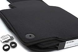 Fußmatten Passat B6 B7 alle Velours Automatten Original Qualität, 4-teilig, schwarz