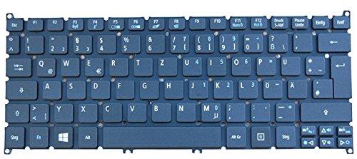 NExpert Orig. deutsche QWERTZ Tastatur Acer Ultrabook Aspire S3 S3-391 S3-392 S3-951 Serie DE schwarz NEU (Acer S3-391)