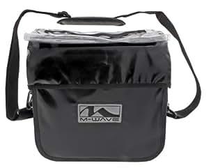 M-Wave Ottawa Waterproof Handlebar Bag - Black
