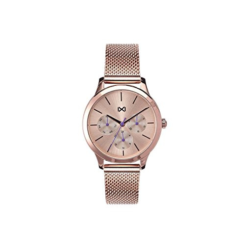 Mark Maddox Women's Analogue Quartz Watch with Stainless Steel Strap MM7104-97