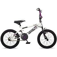 "Rooster Radical 16 BMX Bike White/Purple with 16"" Spoke Wheels"