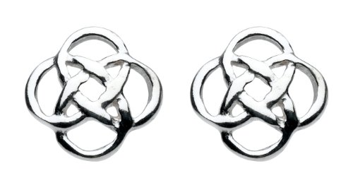 heritage-womens-celtic-open-knotwork-sterling-silver-stud-earrings