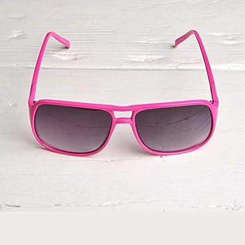 Freak Scene® Retro Sonnenbrille ° 70er/80er-Stil ° Farbe: pink