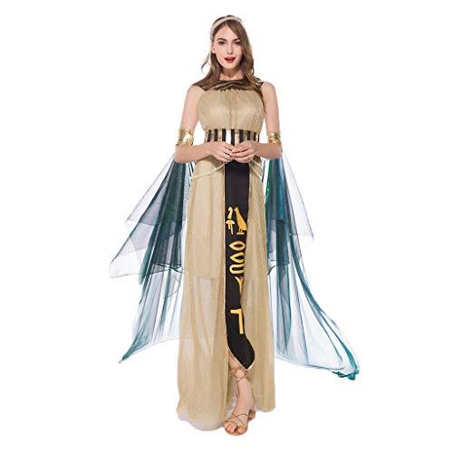 0-0 Halloween Karneval Ägyptischen Pharao und Queens alte Rom Prinz Prinzessin Kleid Kostüm Erwachsene Frauen Männer Cosplay Thema (Bilder Der Alten Lady Kostüm)