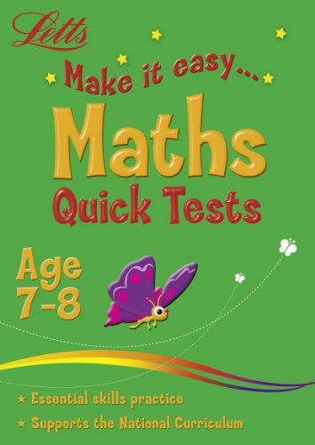 Maths Age 7-8: Quick Tests (Letts Make It Easy)