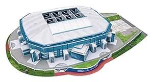 Nanostad Giochi Preziosi 70002131 - 3D Stadion-Puzzle Veltins Arena Schalke