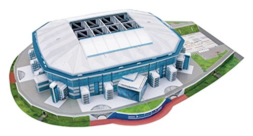 Giochi Preziosi 70002131 - 3D Stadion-Puzzle Veltins Arena Schalke