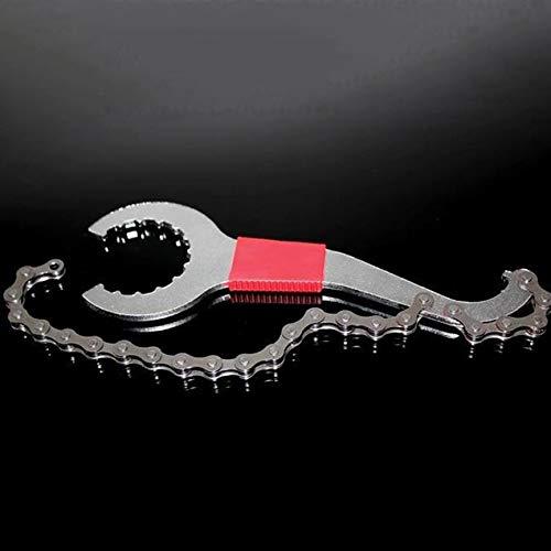 3 In 1 Fahrrad Kette Peitsche Tretlager Freilaufschlüssel Reparatur Entferner Werkzeug Kette Demontage Schraubenschlüssel Bike Repair Tool