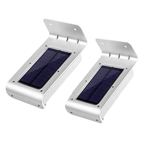 LJS-BQ Solar-LED-Bewegungssensorlicht, wasserdichtes 6000K-weißes Tageslicht 16...