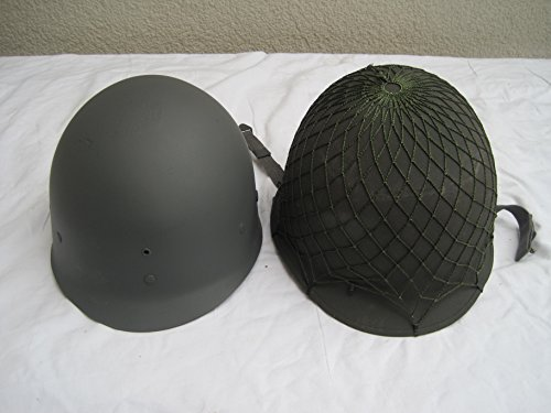 1+Netz US-Army Kevlar USA Armee Ähnl.2 Weltkrieg ()