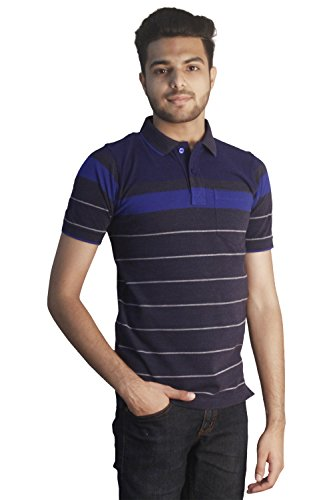 Tapasya Denium Royal Blue Polo T-Shirt