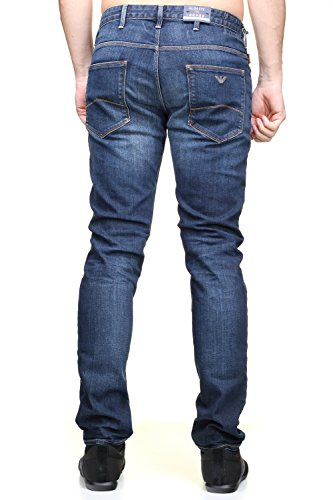 Armani Herren Jeanshose Jeans Scuro