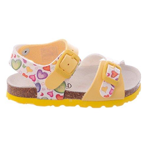 Grunland Aria bambina, pelle liscia, sandali, 20 EU