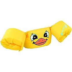 Manguitos para niños de 2 a 5 años, de 15 a 30 kg de Peso, Amarillo