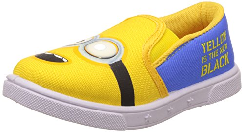 Minions Boy's Yellow Indian Shoes - 5 kids UK/India (22 EU)