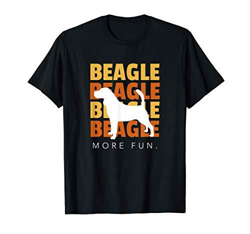 Beagleshirts: Herren Damen Kinder T-Shirt Beagle More Fun -