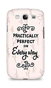 AMEZ practically perfect in every way Back Cover For Samsung Galaxy S3 Neo