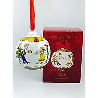 Hutschenreuther porcellana palla di Natale 2008nella confezione