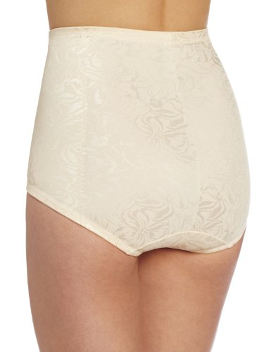 Maidenform Jaquard Instant Slimmer Brief, Mutande Donna, Taglia Unica Off-White (Blush)