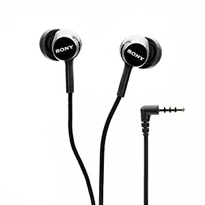 Sony MDR-EX150AP In-Ear Headphones with Mic (Black)