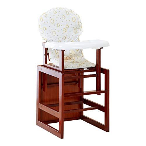 Chaise bébé Pliable Chaise Haute Ergonomique Fonction de télésiège pour Enfants Chaise de Salle à Manger Multifonction Hauteur réglable Facile à Nettoyer