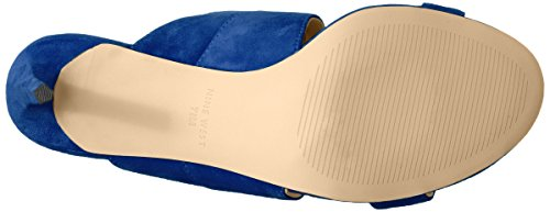 Nine West Damen Nwronnie Offene Sandalen Blue