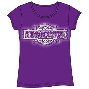 Last Level Camiseta Chica Juego de Tronos Logo Talla L