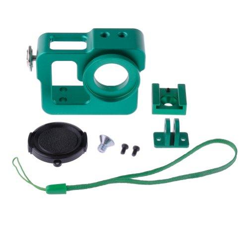 Neewer verde alluminio per esterno caso bordo ciotola con 37mm copriobiettivo per GoPro Hero 3/3+