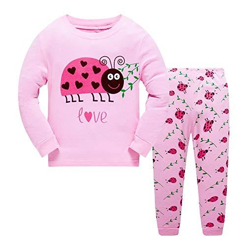 Pijamas para niñas Rosa Mariquita 5 Anos