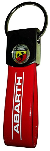 Abarth 21756 Red Band Key Ring