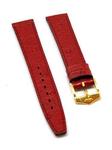 fortis-bracelet-de-montre-en-cuir-rouge-avec-couture-rouge-18-mm-dore-neuf-8515