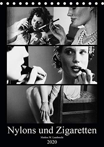 Nylons und Zigaretten (Tischkalender 2020 DIN A5 hoch): Das Porträt zweier moderner Frauen der Zwischenkriegszeit (Monatskalender, 14 Seiten ) (CALVENDO Menschen)