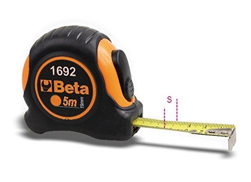 Beta 1692/3metro a nastro shock-resistant bi-material ABS Casing, lunghezza