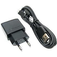 Original Negro 850 mAh Sony Micro USB 2 Pines Cargador de Red Empaquetado a granel Adecuado para Sony Xperia M2, Xperia M2 Dual, Xperia M2 Aqua, Xperia Z1 Compact, Xperia Z3 Compact, Xperia M, Xperia J, Xperia L, Xperia SP, Xperia S