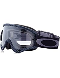 Oakley MX O Frame - Máscara de sol para bicicleta o moto Carbon Fiber Print/Clear Talla:talla única