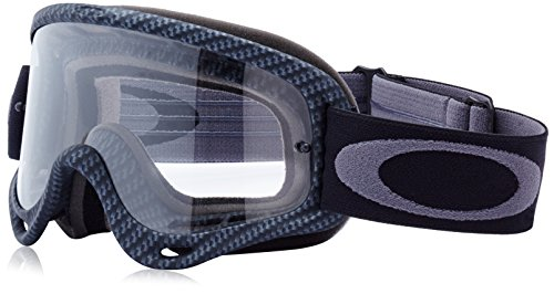 Oakley Goggles MX O Frame True Carbon Fiber/Clear (Farbe: Carbon/Clear)
