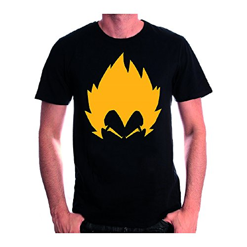 Dragon Ball Z Herren T-Shirt Schwarz