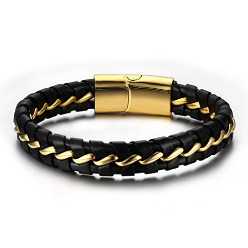 yc-top-personalizzare-in-acciaio-inox-dorato-nero-intrecciato-in-pelle-uomini-braccialetto-al-polso