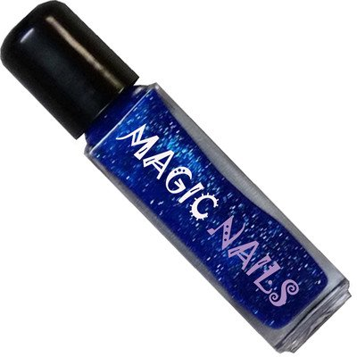 Magic Items Nail Art Liner Fineliner No. 23 Bleu Glitter