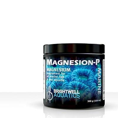 Brightwell Aquatics magnesion-p–Complément de magnésium à sec pour Reef salée 300g/10.6oz