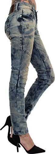 Affliction - - Frauen Raquel Carly Brentwood Jeans Brentwood Wash