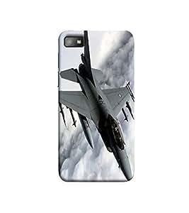 Fuson A fighter plane theme Designer Back Case Cover forBlackBerry Z10-3DQ-1081