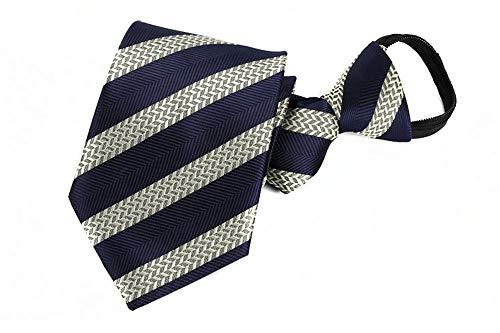 Xzwdiao Krawatten Fauler Reißverschluss Mit Reißverschluss 8Cm, Swll-10 (Bekleidung Fauler)