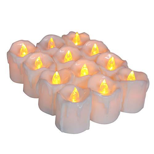 wangZJ Halloween Kerzenlicht/Risse führte elektronische Kerze/TIMING elektronisches Kerzenlicht/gelber Blitz