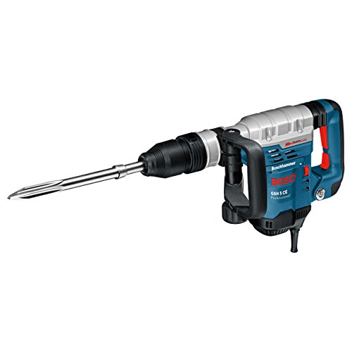 Bosch Professional GSH 5 CE 0611321000 Martello Demolitore con attacco SDS-max, 1.150 W, Categoria 5 kg, Vibration Control
