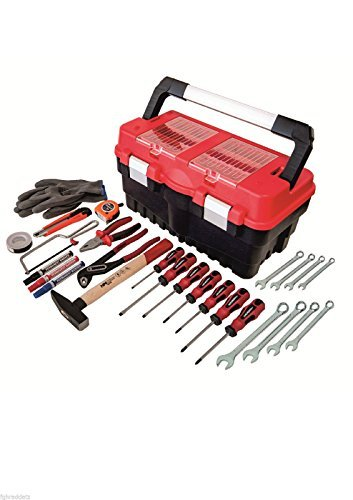 Werkzeugkiste Werkzeugkoffer bestückt für Haushalt und Hobby
