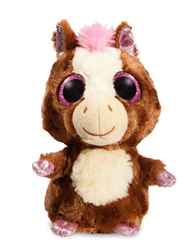 yoohoo-caballo-ojos-brillantes-13-cm-color-marron-aurora-0060029241