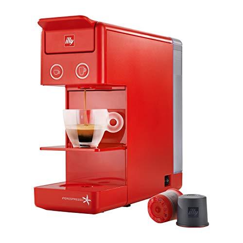 Illy Caffe 60286 Y3 Iperespresso Macchina da caffe, Rosso