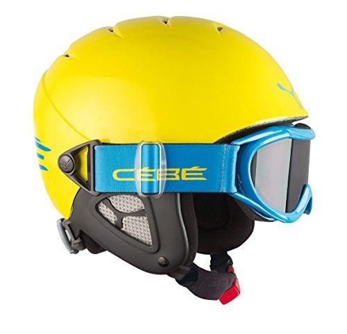 41GDMY6utaL - BEST BUY #1 Cebe Twinny 10085254 Children's Ski Helmet Yellow Yellow Blue Size:S (52-54 cm) Reviews and price compare uk
